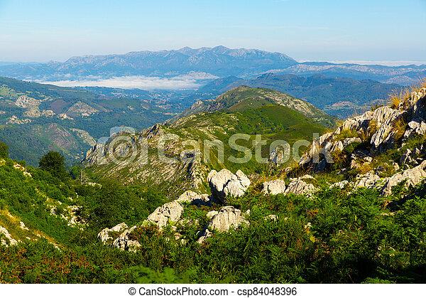 Picturesque landscape of Picos de Europa - csp84048396