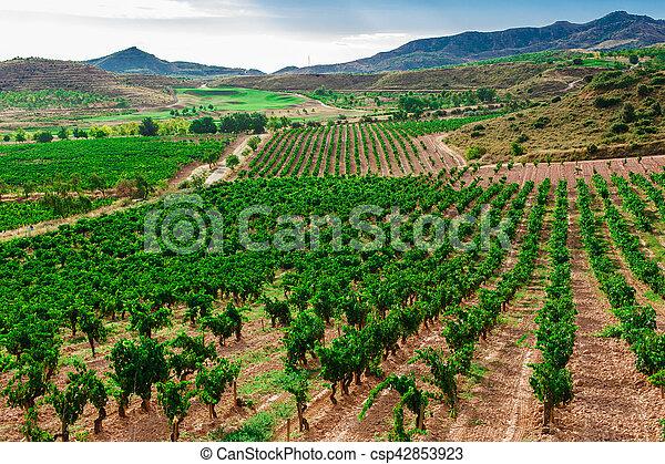 Picturesque landscape of Spain - csp42853923