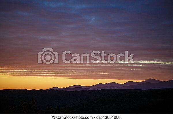Picturesque landscape of Spain - csp43854008