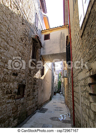Picturesque viewes of nature in summer Croatia - csp72967167