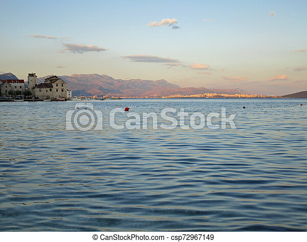 Picturesque viewes of nature in summer Croatia - csp72967149