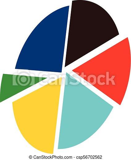 pie chart analyze vector rh canstockphoto com  pie chart icon clipart