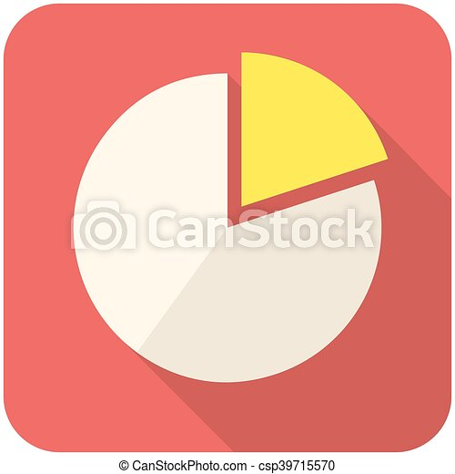 Pie chart icon - csp39715570