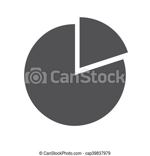 Pie chart icon - csp39837979