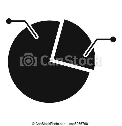 Pie Chart Icon Simple Pie Chart Icon Simple Illustration Of Pie