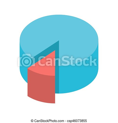 pie chart vector icon flat icon isolated on the white clipart rh canstockphoto ie pie chart vector illustrator pie chart vector psd