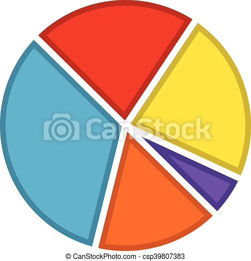 pie chart vector icon vector search clip art illustration rh canstockphoto com