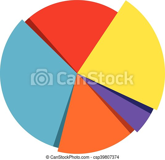 pie chart vector icon vectors illustration search clipart rh canstockphoto com pie chart vector psd pie chart vector graphics
