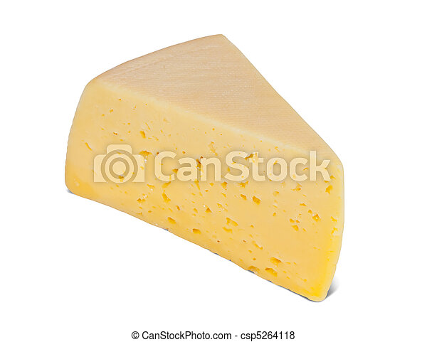 piece of cheese - csp5264118