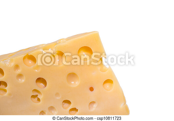 Piece of cheese - csp10811723