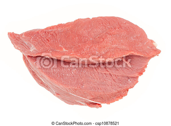 Piece of raw beef - csp10878521