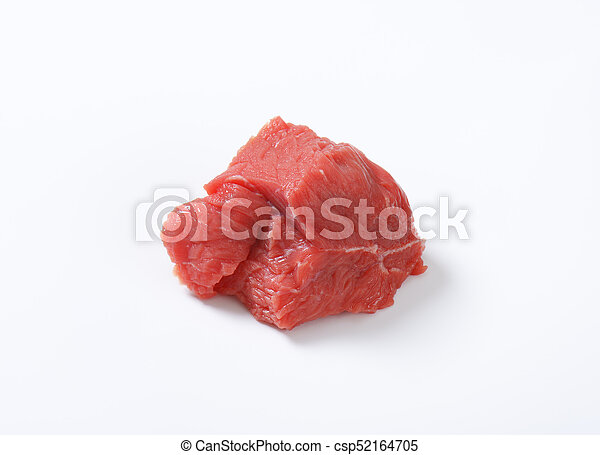 piece of raw beef - csp52164705