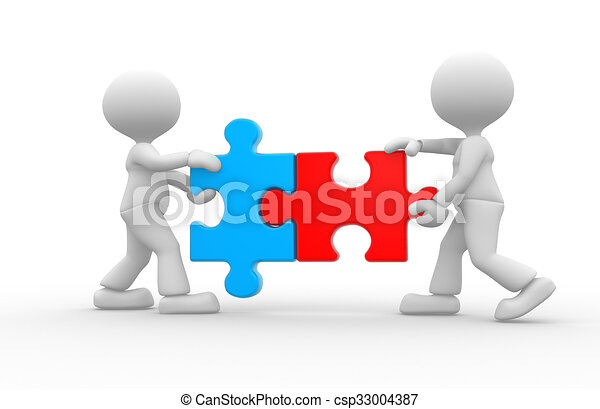 Pieces Jigsaw Puzzle 3d People