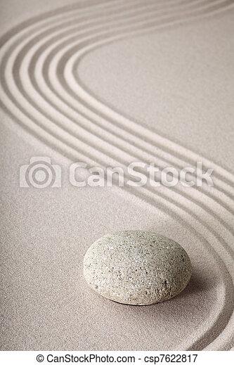 Piedra jard n zen arena jard n de piedra zen raked - Arena jardin zen ...