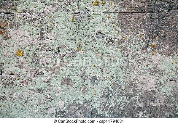 El fondo de la pared de piedra - csp11794831