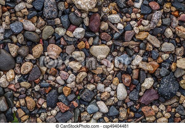 Trasfondo abstracto con piedras - csp49404481