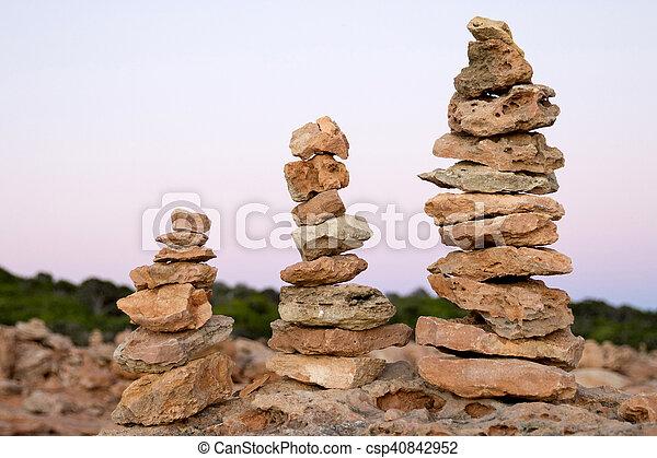 Torres Stones - csp40842952