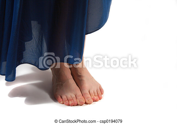 pieds nue - csp0194079