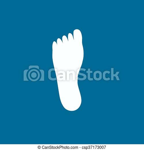 El ícono de las piernas - csp37173007