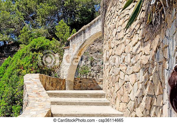 pierre, étapes - csp36114665