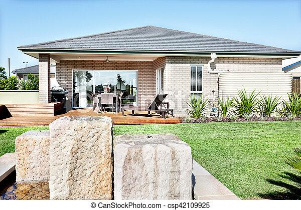 maison pierre moderne latest maison en pierre moderne avec maison de la literie st etienne good. Black Bedroom Furniture Sets. Home Design Ideas
