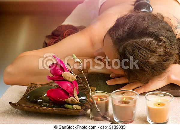 pierre, dayspa, spa, salon., massage. - csp13133035