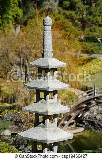 pierre, jardin japonais