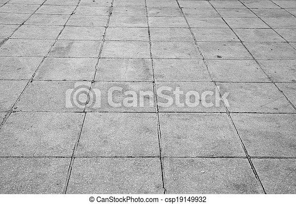pierre, rue, trottoir, route, texture - csp19149932
