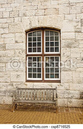pierre vieux banc bois mur fen tre sous bloc pierre vieux banc bois mur fen tre sous. Black Bedroom Furniture Sets. Home Design Ideas