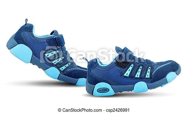 pieszy, sneakers, sobie - csp2426991