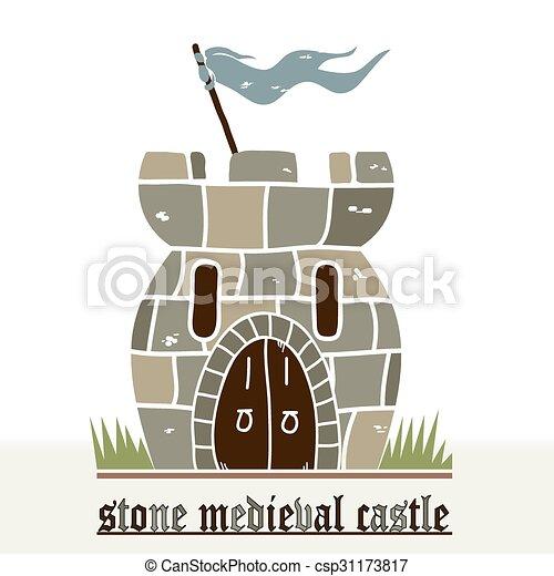 pietra, castello - csp31173817