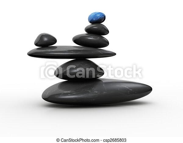 pietra, equilibrio - csp2685803