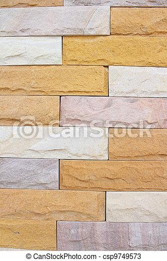 pietra, tegole - csp9749573