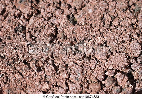 pietre, poco, rosso - csp18674533