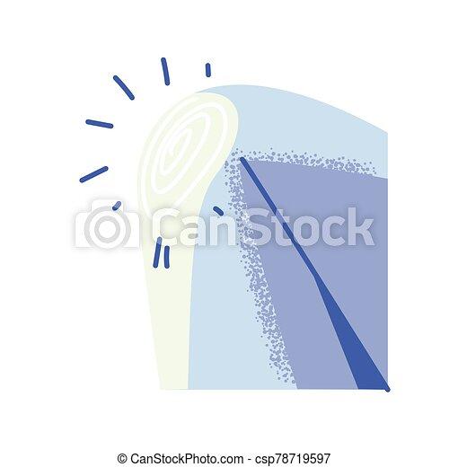 pieza del cuerpo humano, blanco, rodilla, plano de fondo - csp78719597