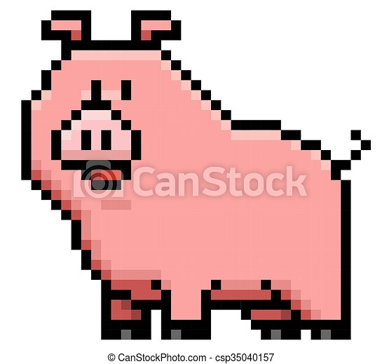 Pig - csp35040157