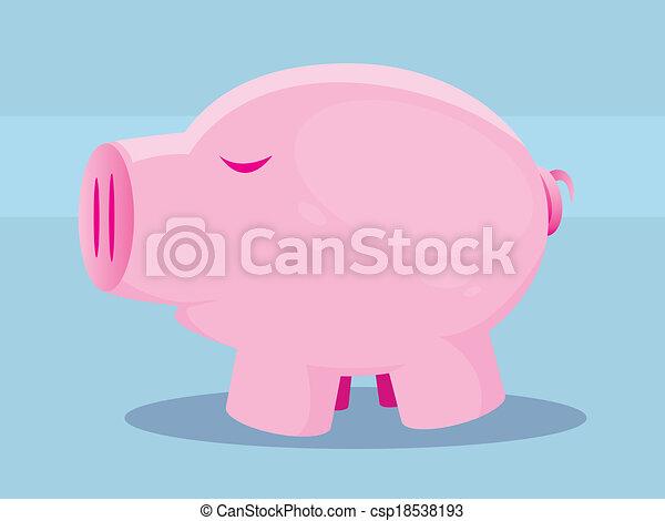 Pig - csp18538193