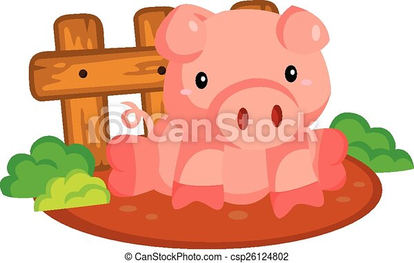 pig vector clipart search illustration drawings and eps graphics rh canstockphoto com pig vector art
