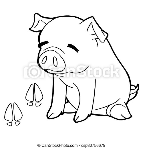 Paw Print Coloring Pages - Coloring Home | 470x450