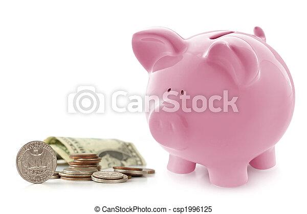 piggy, banca soldi - csp1996125