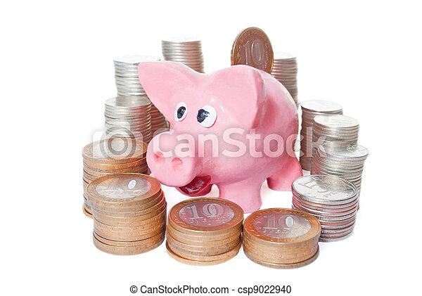 piggy bank - csp9022940