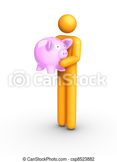 Piggy Bank - csp8523882