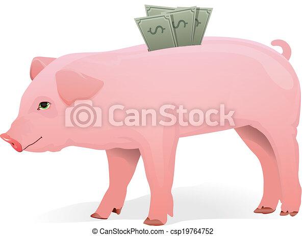 Piggy Bank - csp19764752
