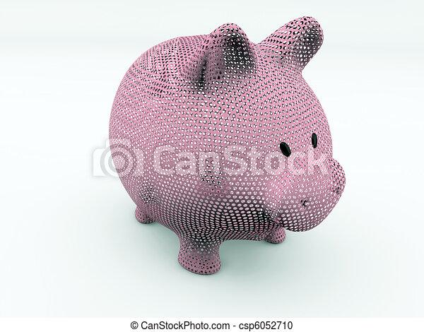 piggy bank - csp6052710