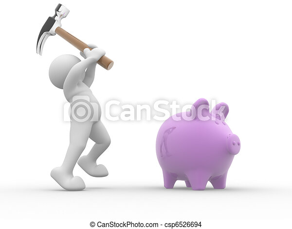 Piggy-bank - csp6526694