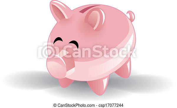 piggy bank - csp17077244