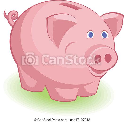 piggy bank - csp17197042