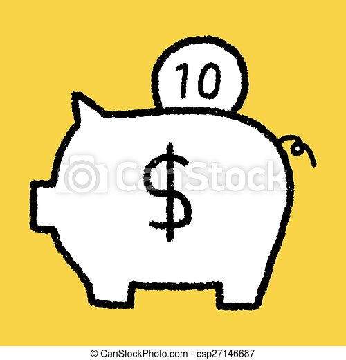 piggy bank - csp27146687
