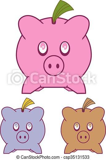 Piggy Bank - csp35131533