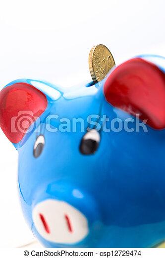 Piggy bank - csp12729474